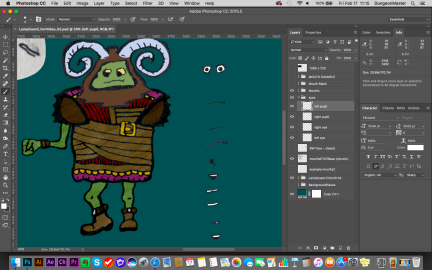 A Monster and an Illustrator Tutorial